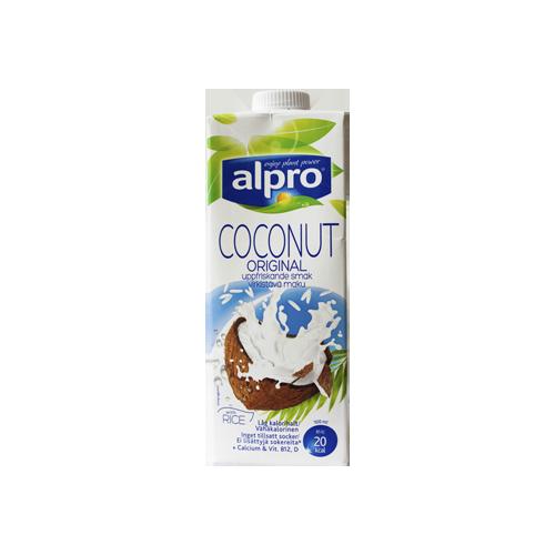 Alpro Kookospähkinäjuoma.