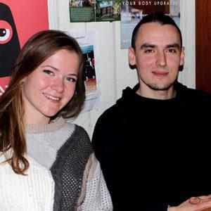Laura Kiiroja ja Mattias Turovski.