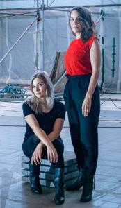 Laura Gustafsson ja Terike Haapoja