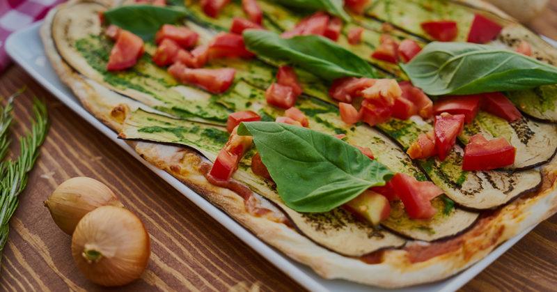 Vegaaniset valmispizzat. Kuvassa herkullinen vegaanipizza.