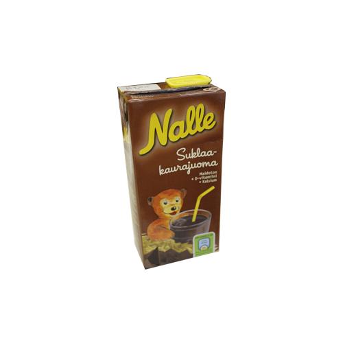 Nalle Suklaa-kaurajuoma.