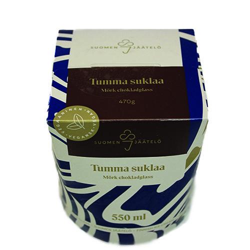 Suomen jäätelön Tumma suklaa.